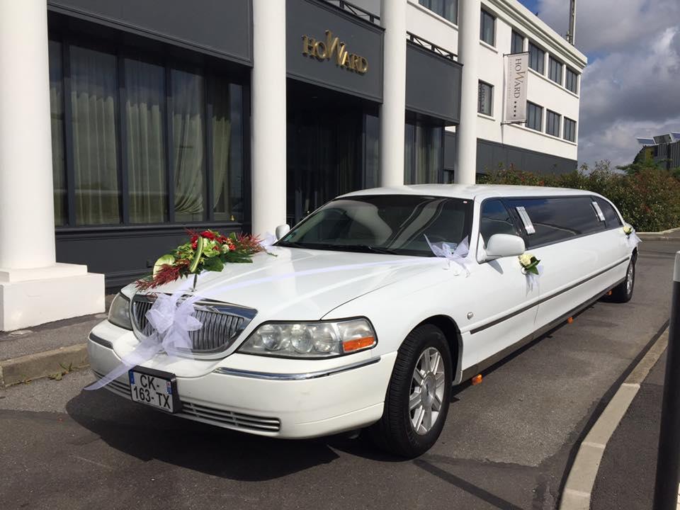 Location limousine blanche Paris