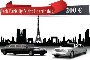 Location de limousine Paris By Night