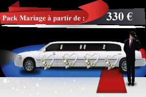 Location de limousine pour mariage à paris