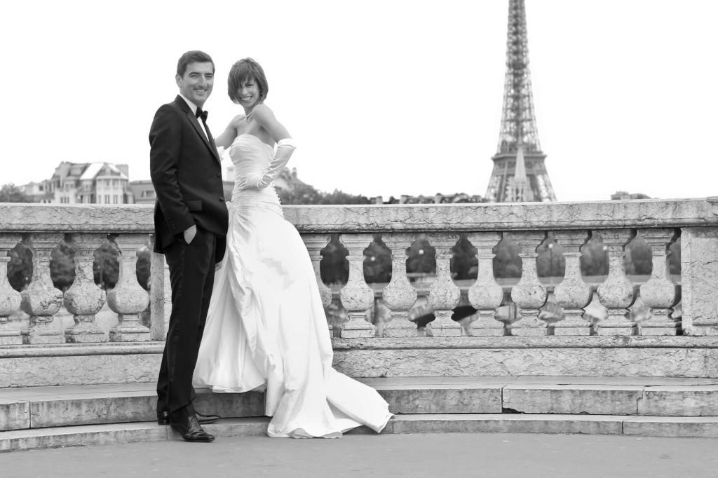 Mariage en limousine à Paris